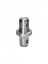 MILOS M290E Spacer U 10 Distanz 10 mm, male/male