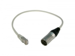 ANOLIS Adapter RJ 45, XLR 5 pol male auf CAT 5, 0,5m