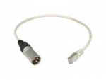 ANOLIS Adapter RJ 45, XLR 3 pol male auf CAT 5, 0,5m