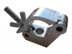 MILOS Side Clamp, silber, 300 kg, 48-51 mm, 30 mm