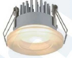 Riva 1, LED Downlight; 7W; 700mA; 2800K, diffuse Abstrahlung