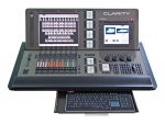 LSC Clarity LX600, Clarity Software, 6x DMX 512, 2x Touchscreens, Motorfader